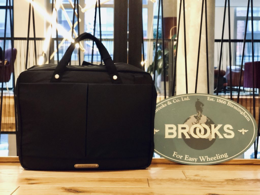 Brooks New Street briefcase on sale